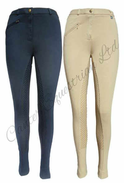 Canter Ladies Silicone  Jodhpurs
